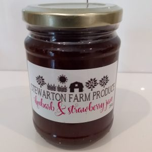 Rhubarb & Strawberry Jam – 280g