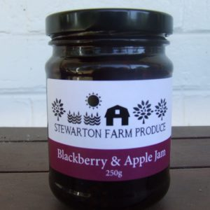Apple & Blackberry Jam 250ml